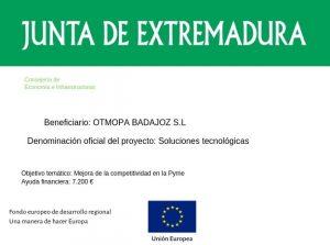 Subvencion Junta Extremadura